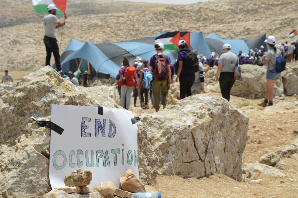 Photo by Gili Getz, courtesy of  Sumud: Freedom Camp