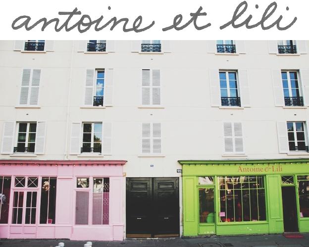Antoine et Lili, Paris shop | Sycamore Street Press