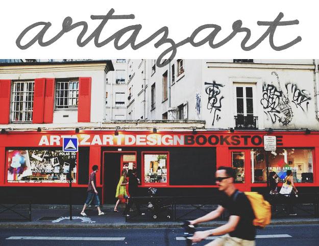 Hip Paris bookstore; Artazart | Sycamore Street Press