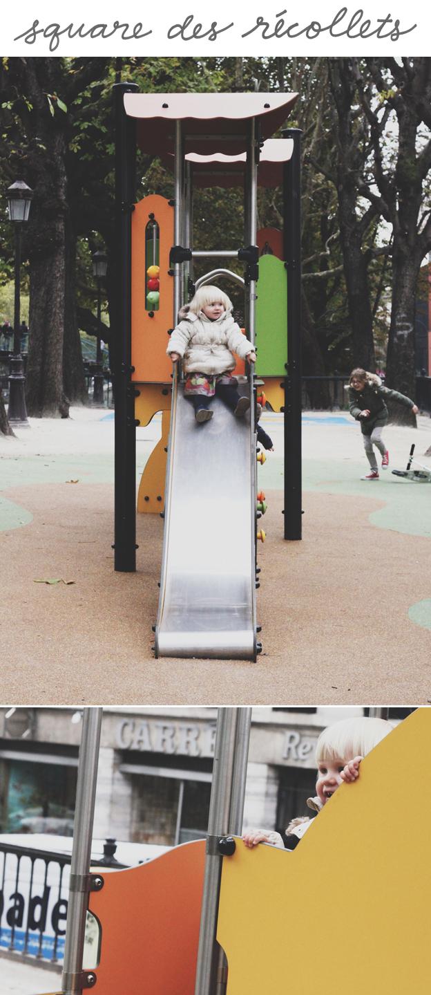 Paris Playgrounds with a toddler