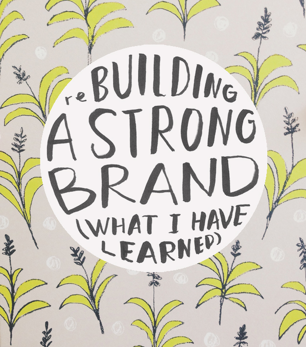 reBuilding a Strong Brand (What I Have Learned) | www.sycamorestreetpress.com