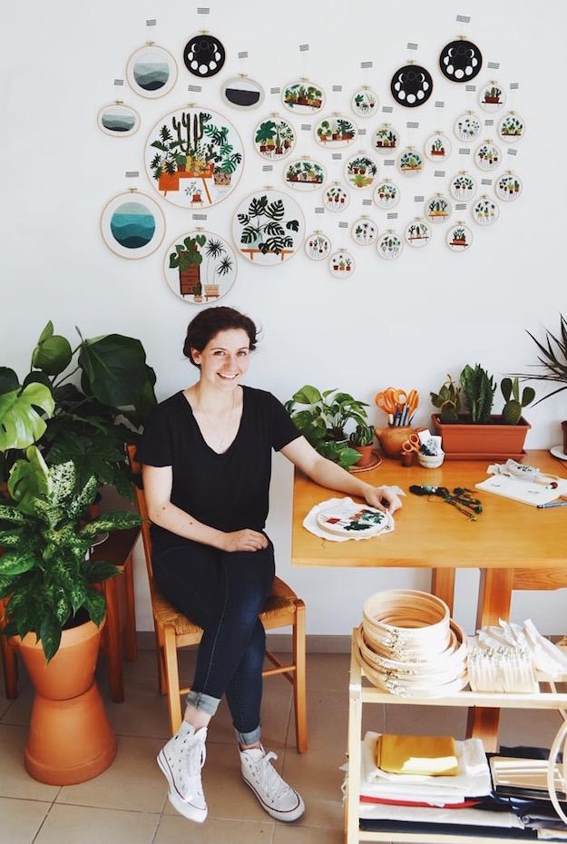 Sycamore Q&A: Sarah K. Benning, Fiber Artist | Menorca, Spain | Sycamore