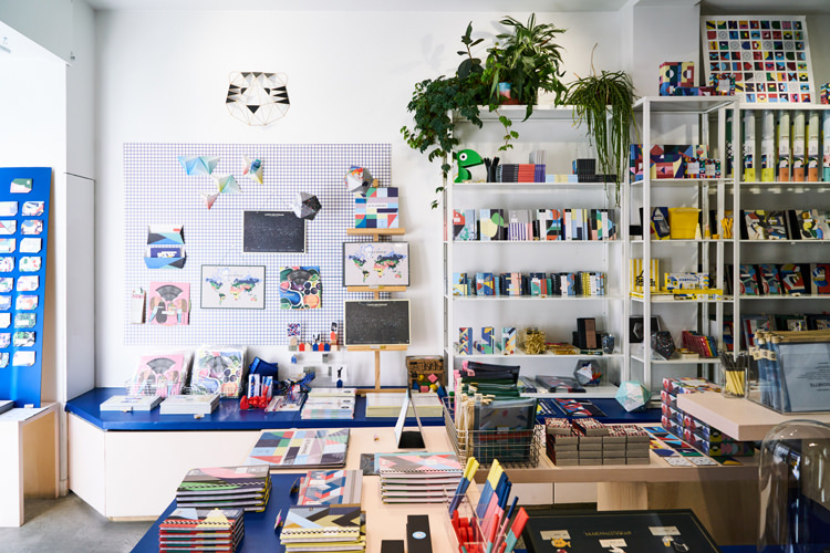Papier Tigre boutique in the Upper Marais