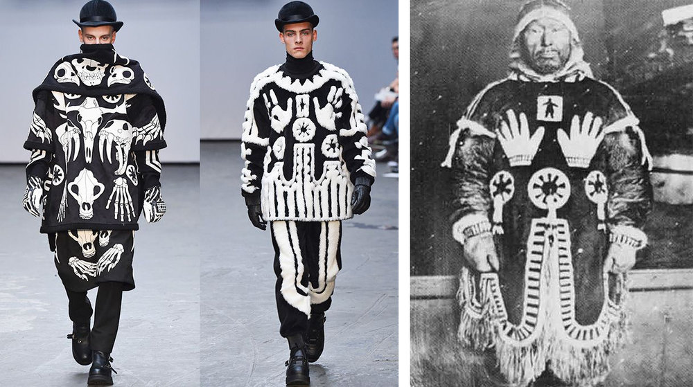 KTZ F/W 2016 / Sacred traditions of the Inuit culture//SRC