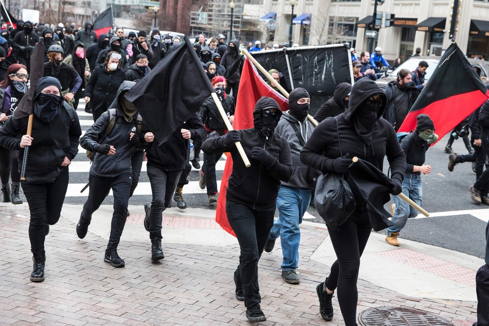 ANTIFAS IN NJ LABELED DOMESTIC TERROR ORG BY STATE HOMELAND SECURITY - POLICY+POLITICS