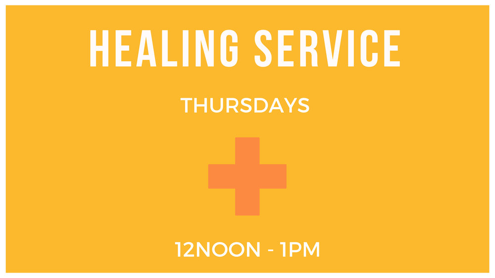 We understand that not everyone can be here in person at the healing service but we can still pray for you! Send your prayer requests to us so we can pray. Grab a Prayer Request form from the info desk and hand it it the following week or you can fill in an online form   HERE  . Prayer Works!