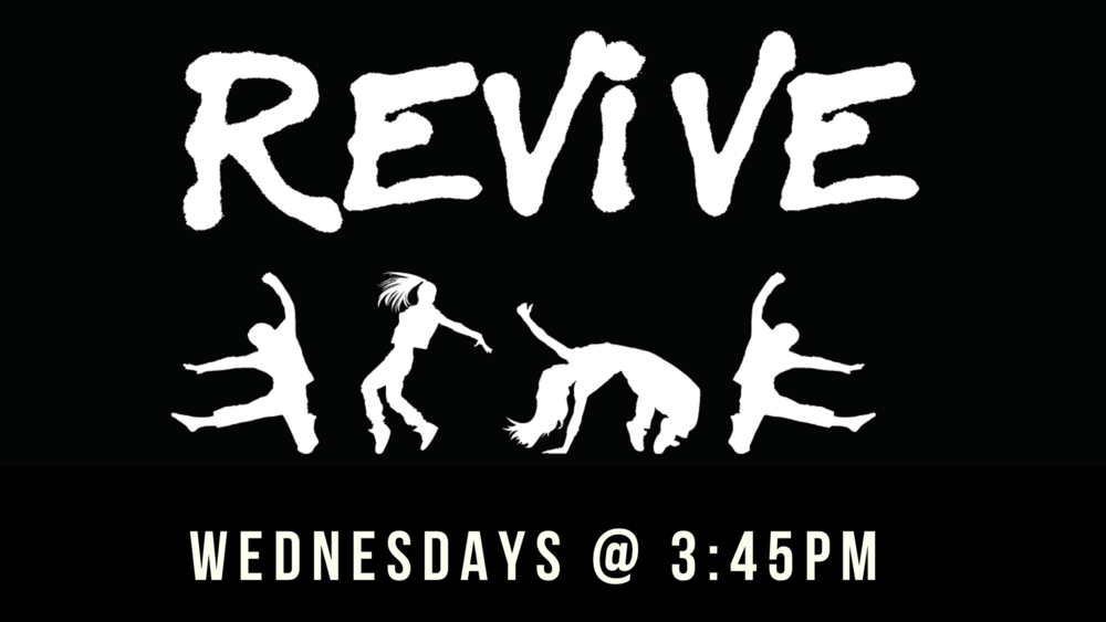 Revive Dance Group  - if your primary school child is interested we would love to see them Wednesday's at 3:45pm in Adventureland. Cost is $10 per term. If you would like to know more information contact us   HERE