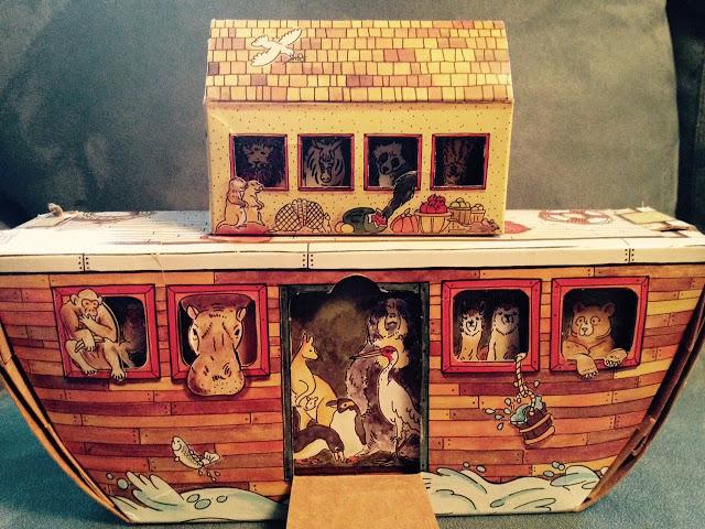 3D Paper Noah's Ark
