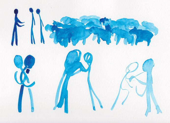 Vayishlach sketches