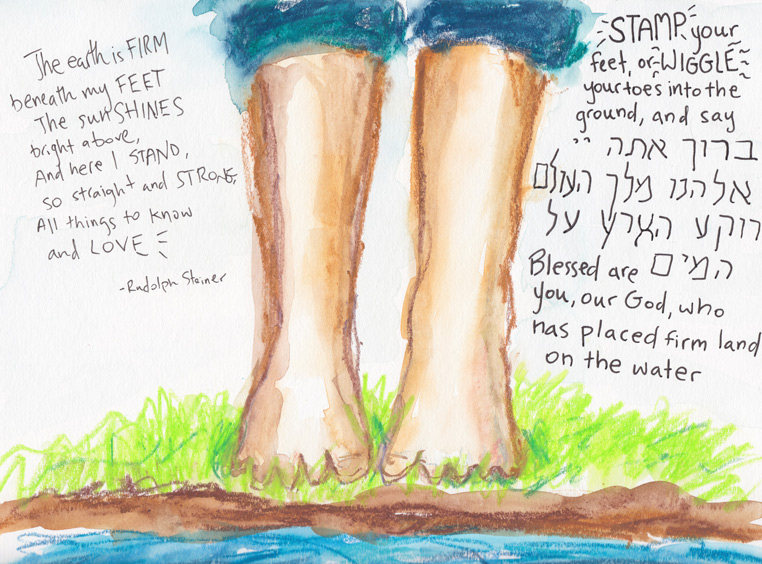 First sketches towards a Beyond Noah's Ark siddur