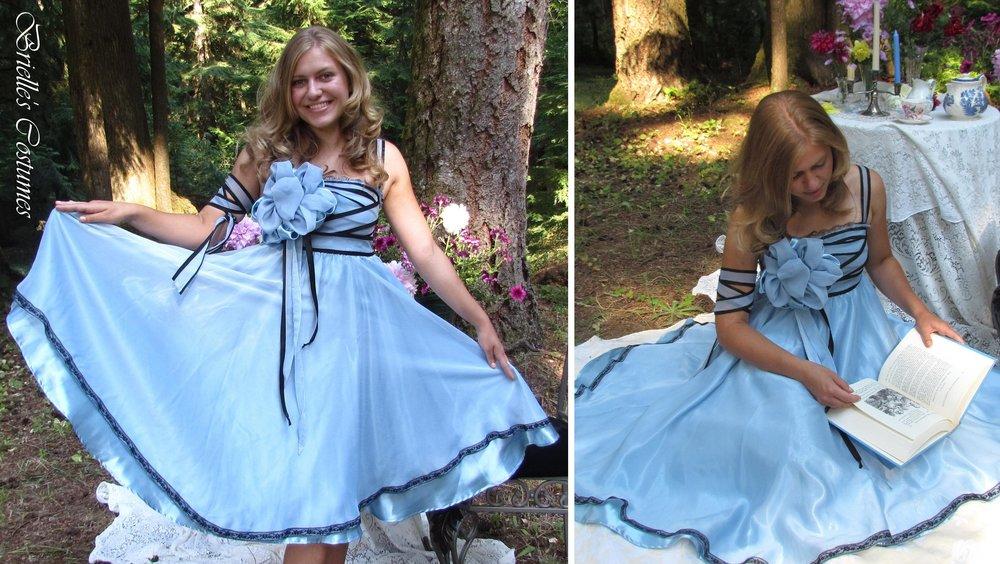 076e41e2208a Alice inspired Tea party dress