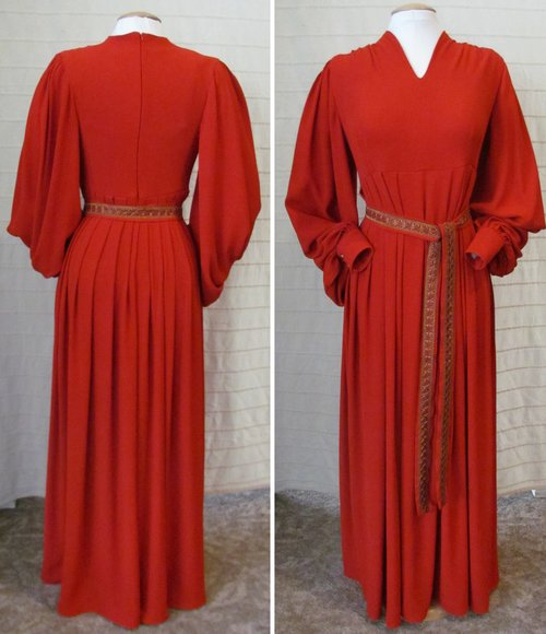 Princess Buttercup Red Dress Pattern