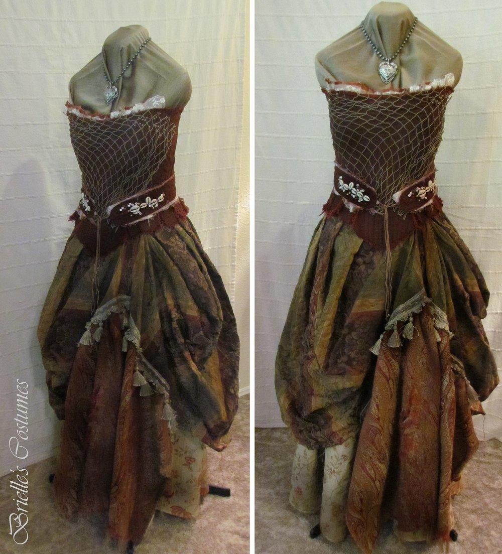 Brown Costume Dress