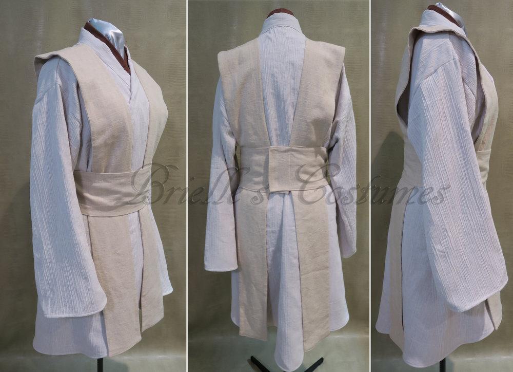 jedi inspired costume - female Jedi costume - Star wars jedi costume - jedi outfit- Jedi robe - Jedi costume set & Jedi u2014 Brielle Costumes