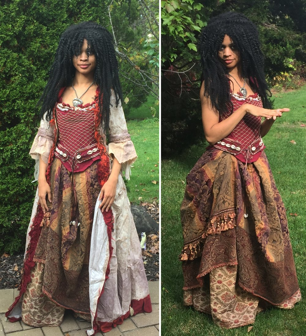 Tia Dalma Pirates Of The Caribbean Once Upon A Costume