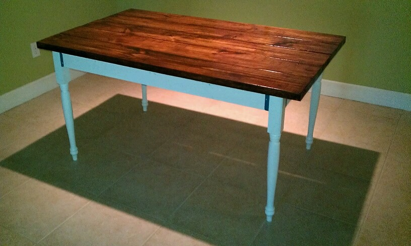 Outspoken Rhino farmhouse table