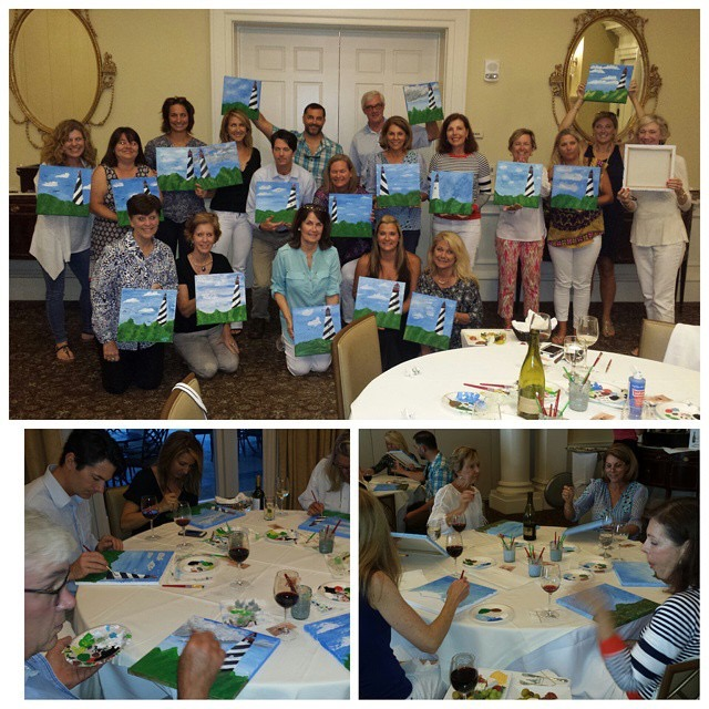 St Augustine Lighthouse painting party
