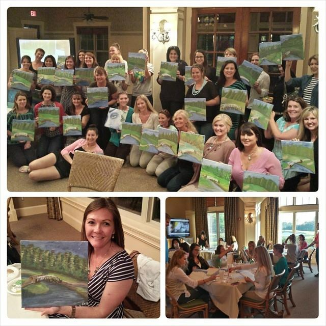 Stone Bridge painting party