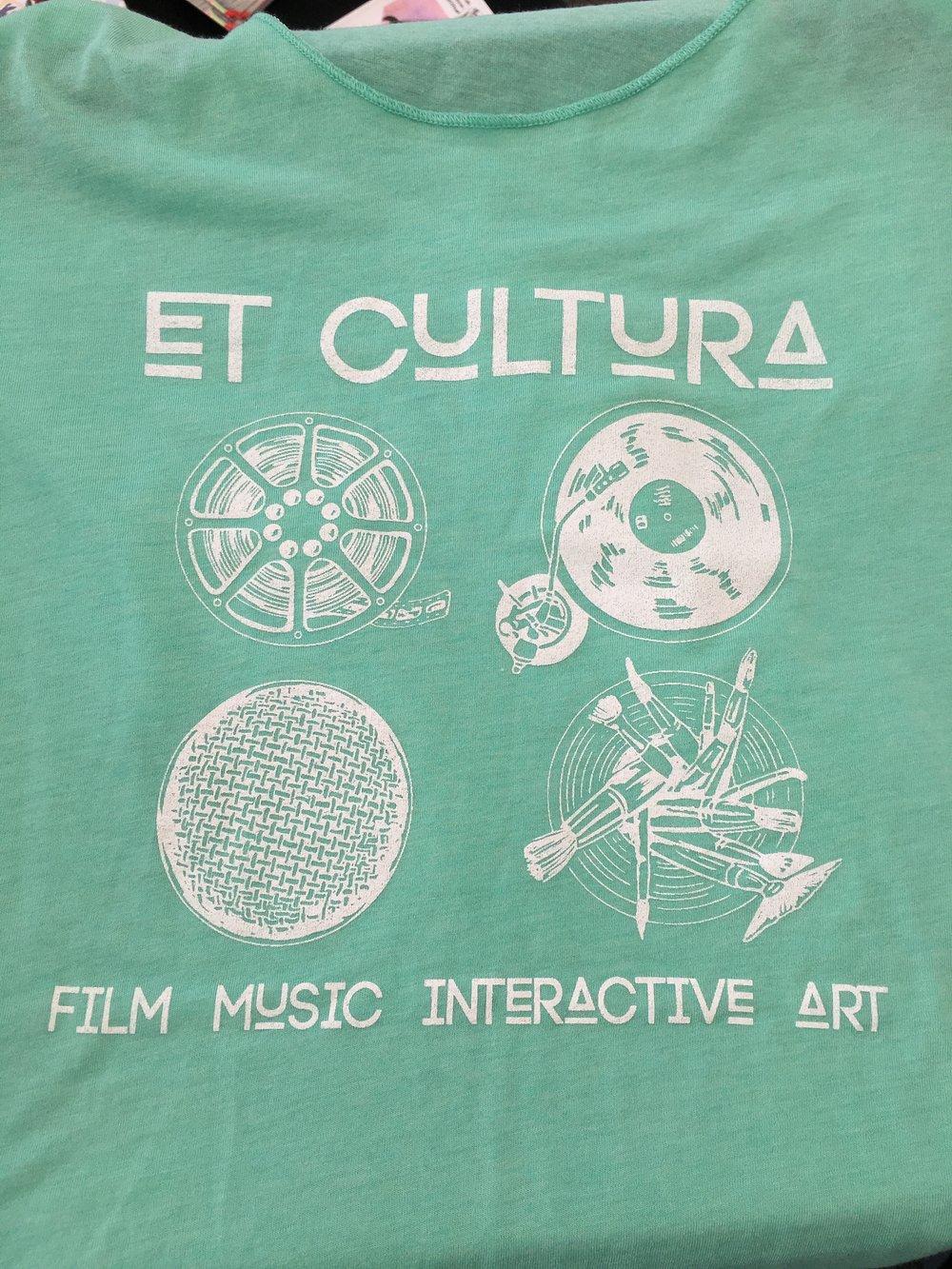 Outspoken Rhino Et Cultura T-shirt design