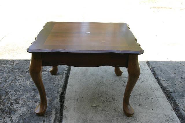Queen Anne Side Table Queen Anne Side Table Makeover U0026 Winner U2014 The  Whimsical Wife
