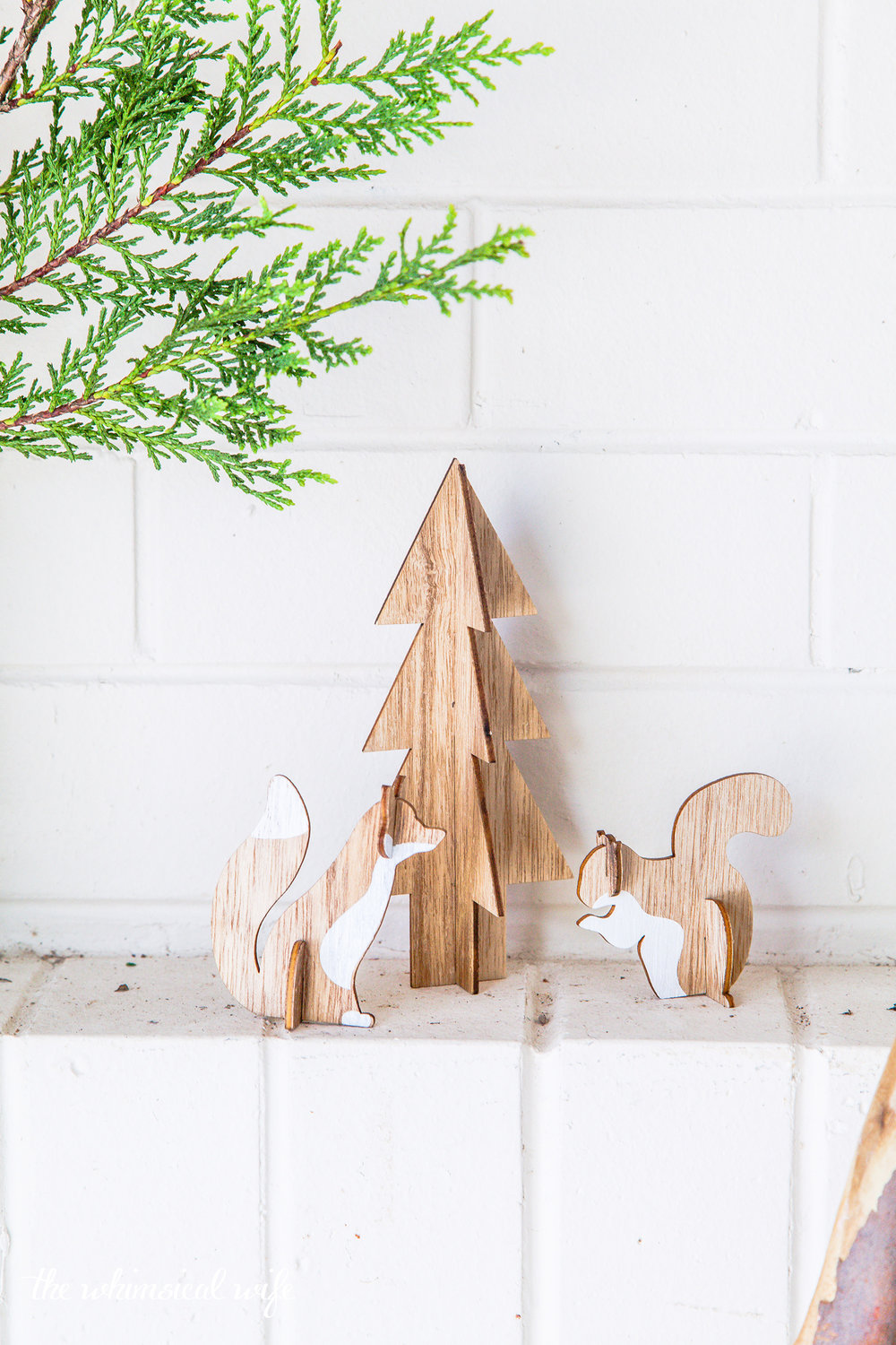 Rustic Scandinavian Ladder Christmas Tree