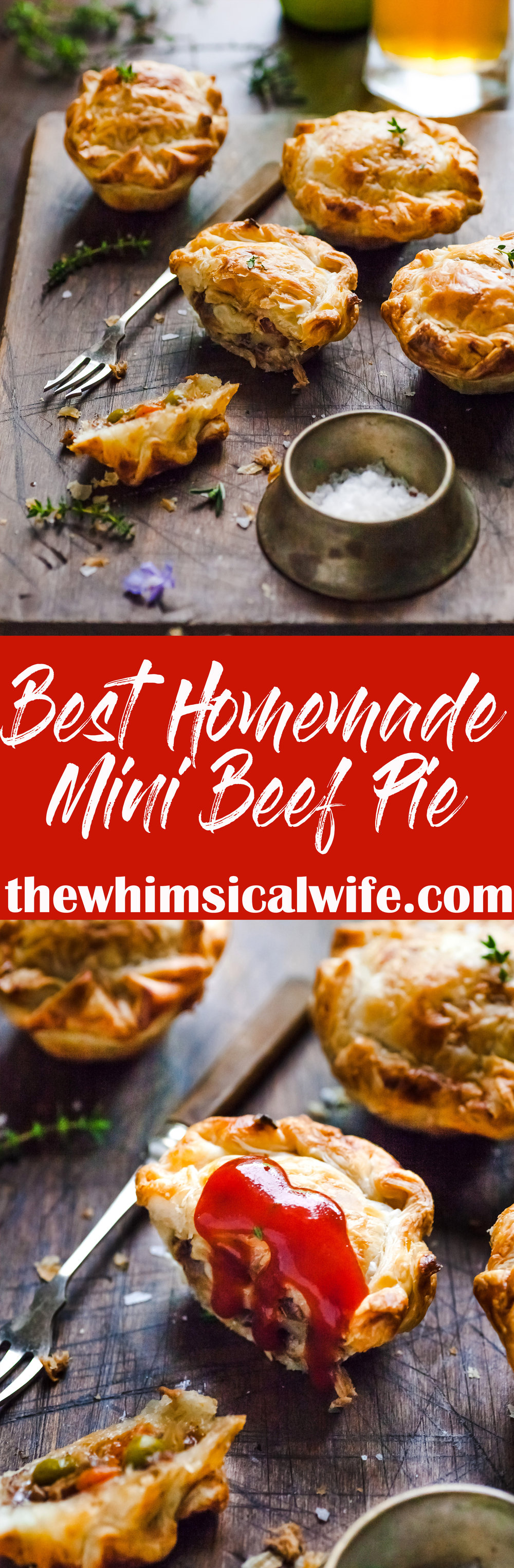 Best Homemade Mini Meat Pie + Video | The Whimsical Wife