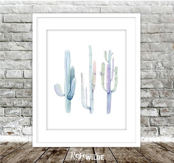 Cactus Etsy Print