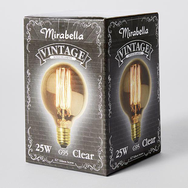 E27 Vintage Filament Bulb