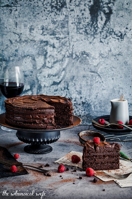 30 Cakes In 30 Days: 1. Dark Chocolate Espresso Mudcake {GF, DF}