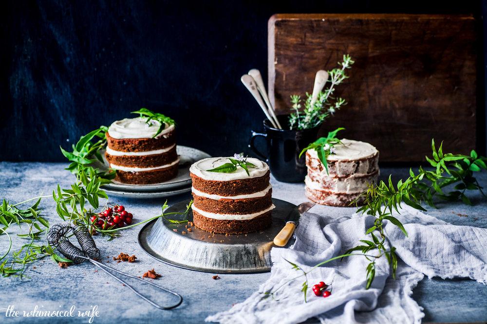30 Cakes In 30 Days | 6. Mini Red Velvet Cakes {DF, GF, Egg Free} | The Whimsical Wife