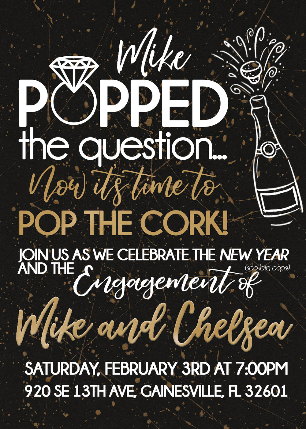 engagement party invitationjpg
