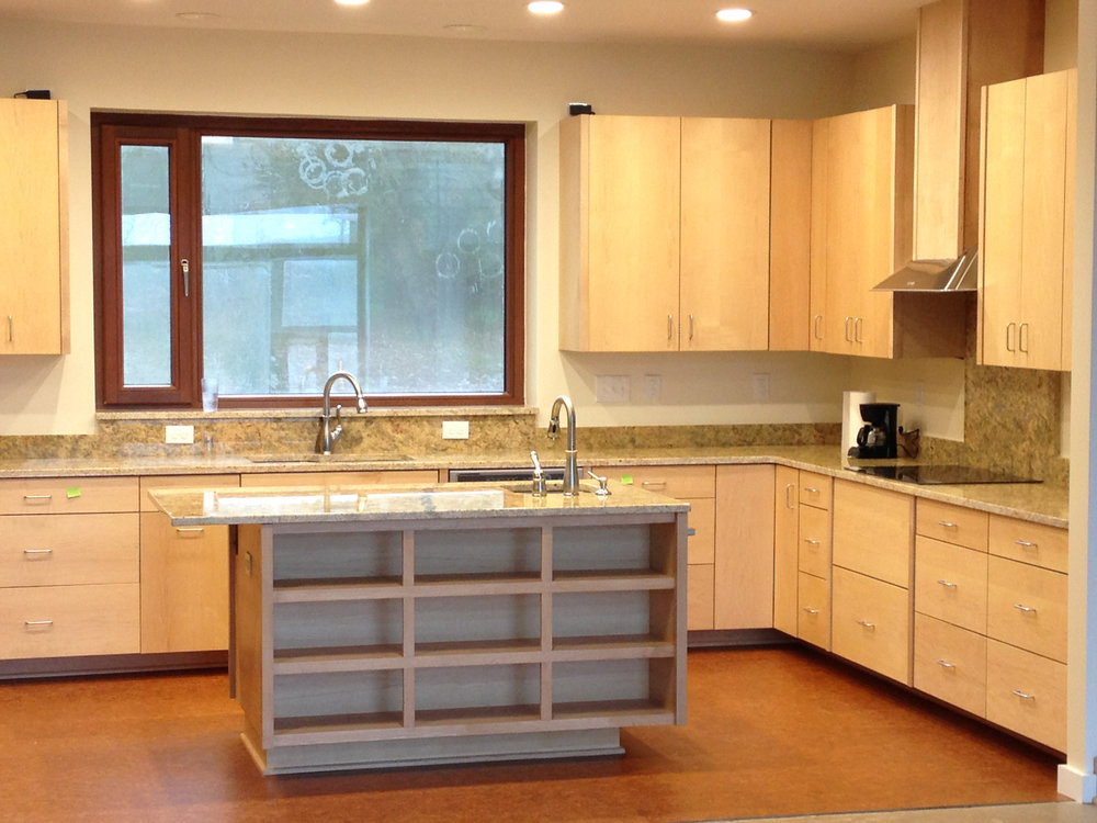 Custom kitchen in Fearrington Village, near Chapel Hill, NC.