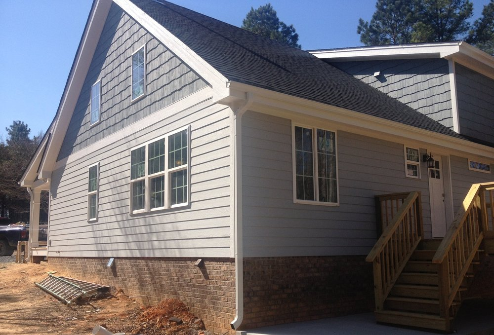 New super-insulated and air tight home in Saxapahaw, NC.