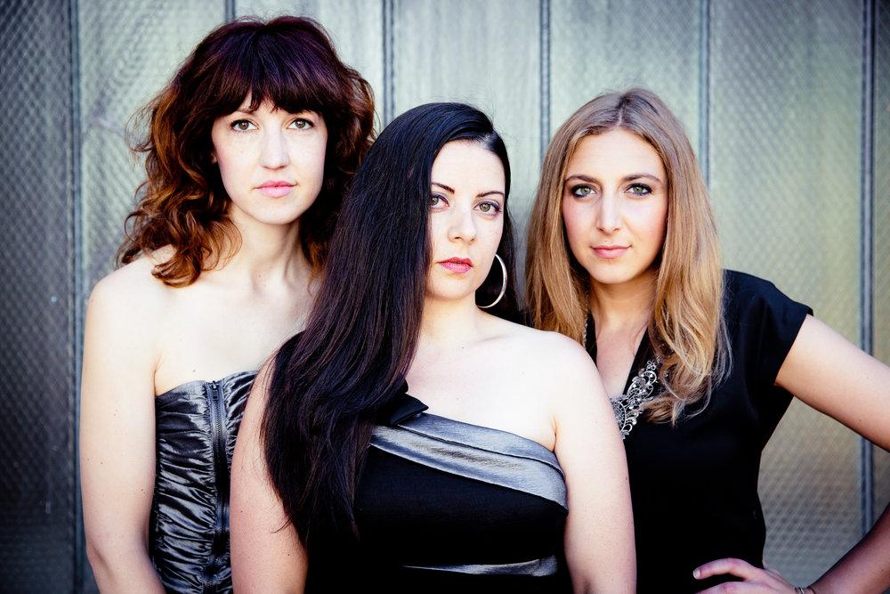 Areon Flutes 2013-2016: Jill Heinke Moen, Kassey Plaha, Sasha Launer