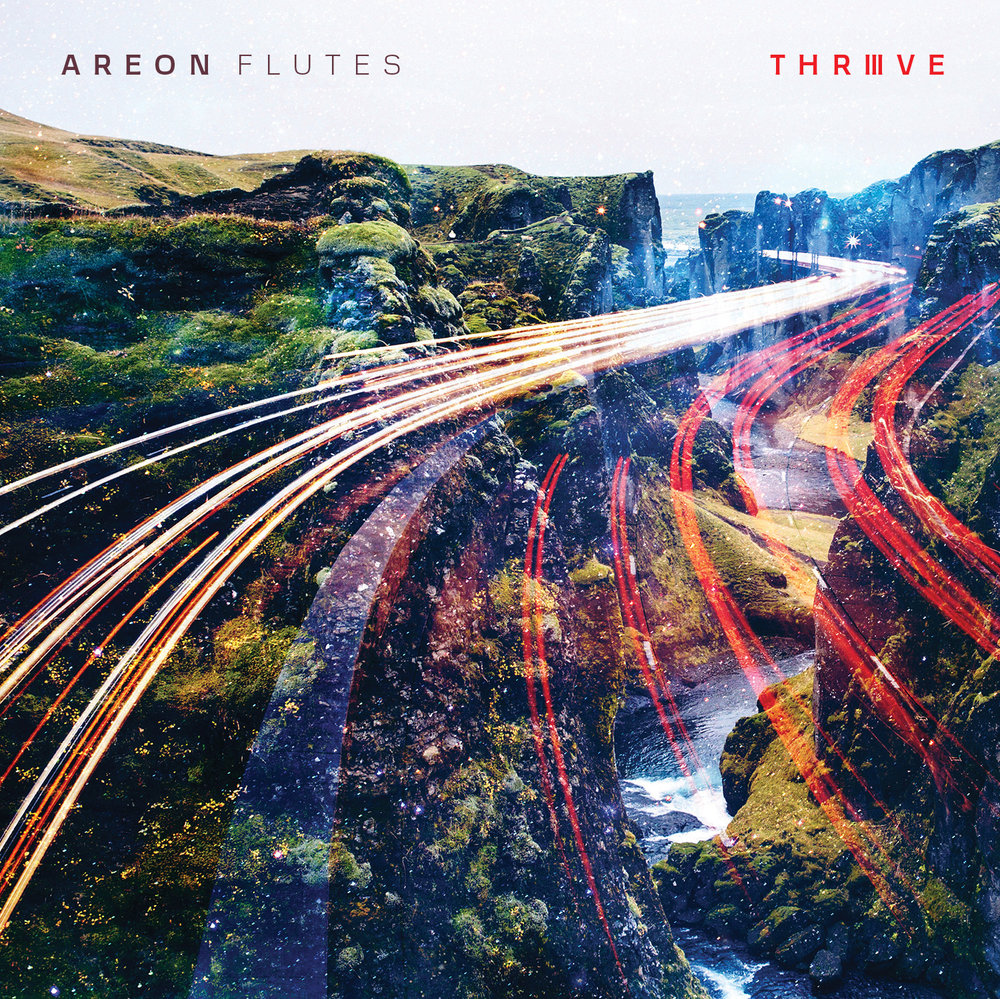 Areon Flutes releases their 3rd album, Thrive, on the Innova Music label.