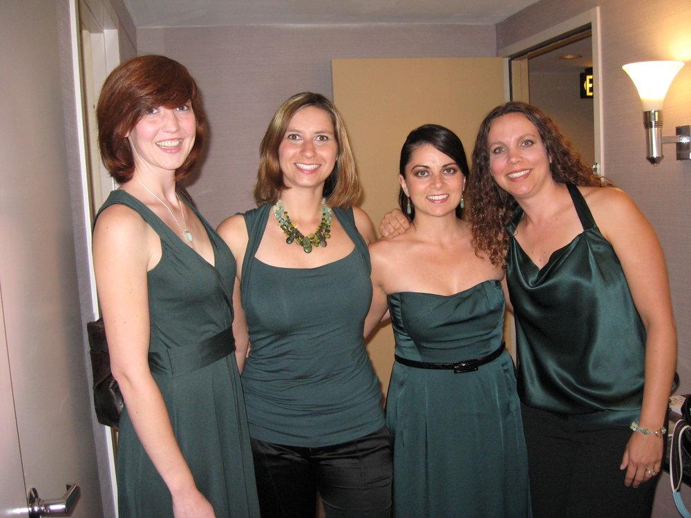 Areon Flutes 2005-2010: Jill Heinke Moen, Tamara Maddaford, Kassey Plaha, Amelia Vitarelli