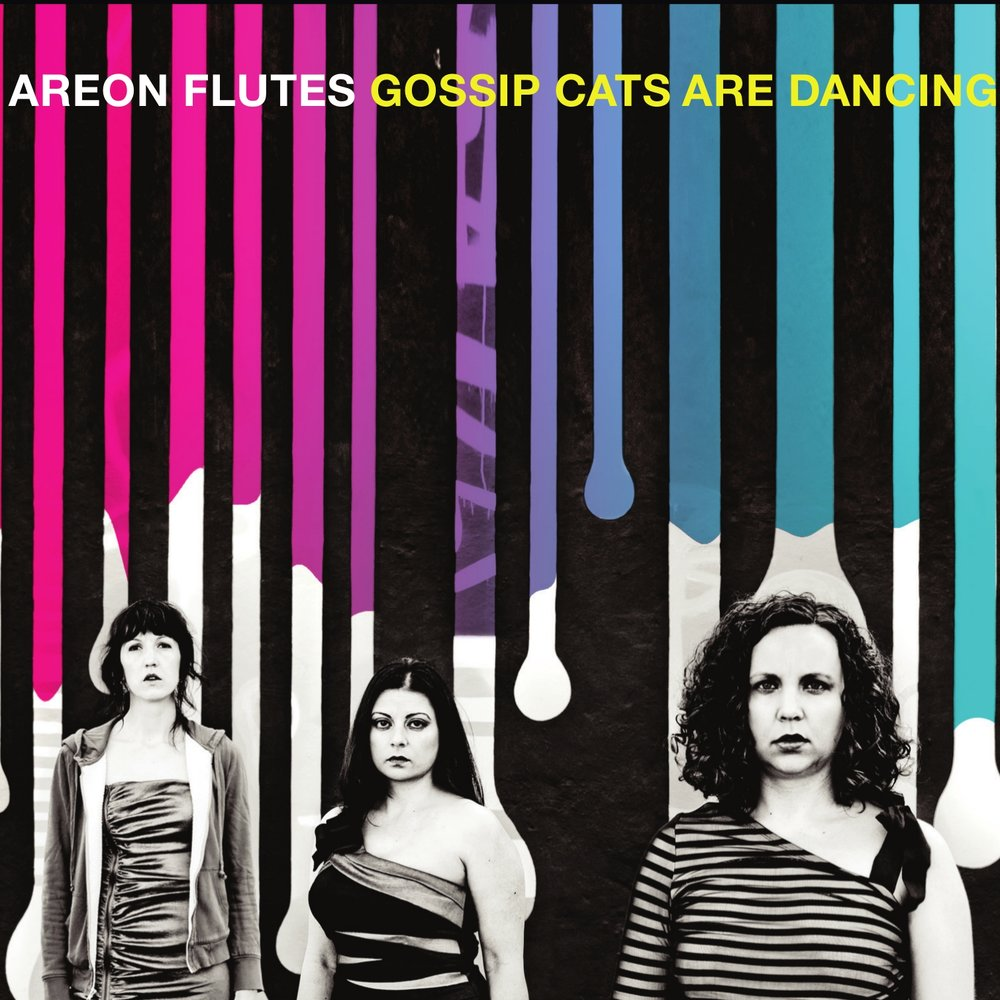 "Areon Flutes releases ""Gossip Cats are Dancing"" featuring works by Robert DIck, Chia-Ying Chiang, and Mike Sempert"