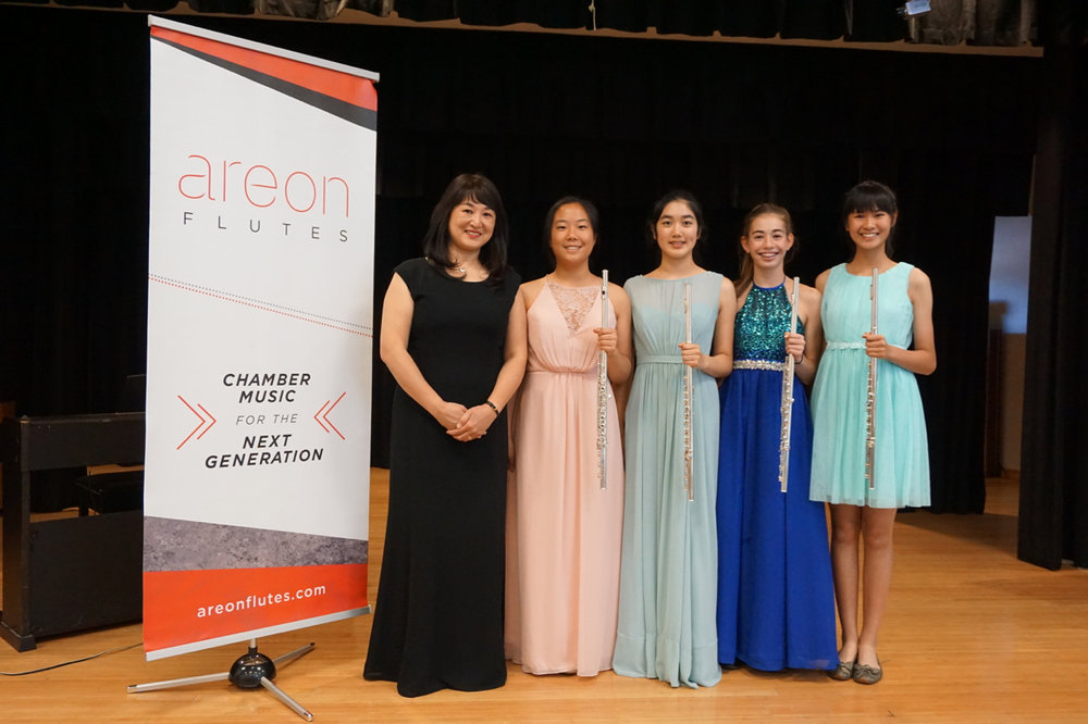 solo competition finalists with collaborative pianist Hiroko Mizuno
