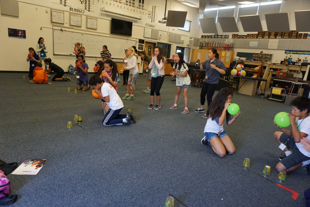 junior campers' indoor games