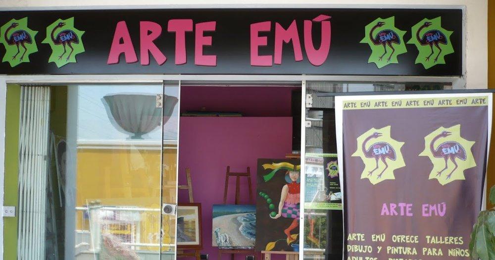 ARTE EMÚ: Local fundado por Ximena Heraud