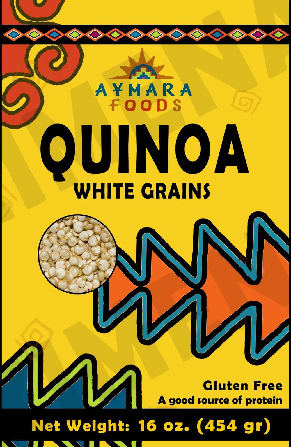 Quinoa Packaging   Logo and packaging design