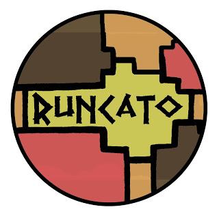 Runcato Logo   Logo for a peruvian essential oil company.