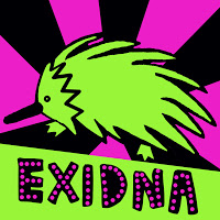 Exidna Logotipo  Logotipo para empresa que vende ropa.