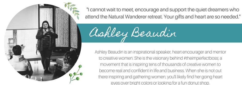 Ashley Beaudin Natural Wanderer Retreat Speaker