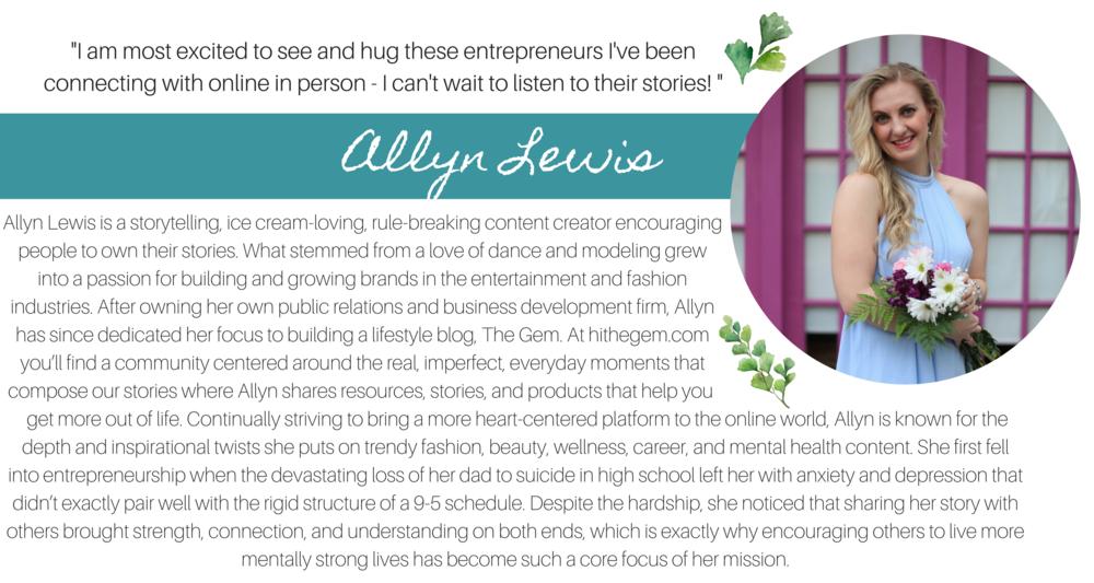 Allyn Lewis Natural Wanderer Retreat Speaker Creative Women