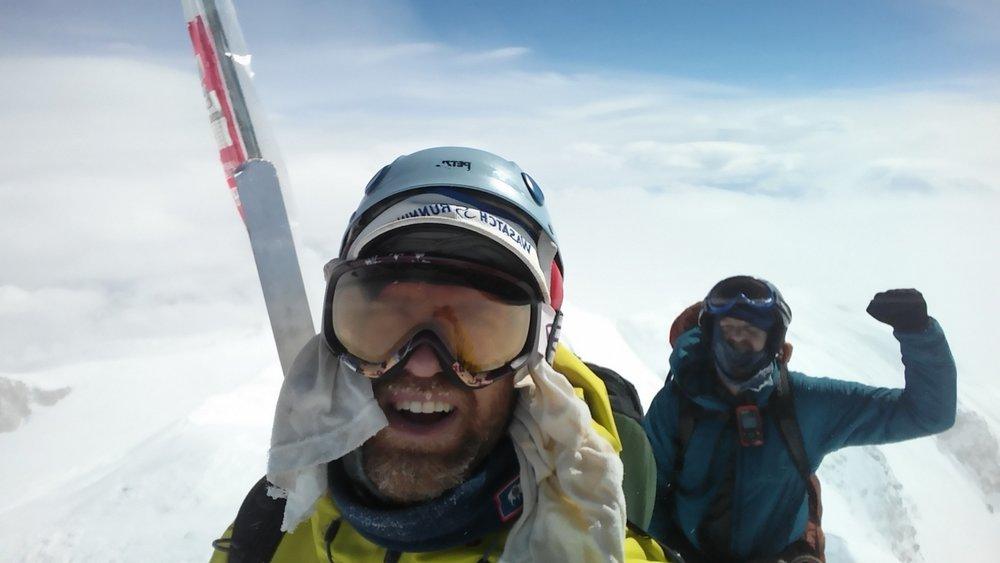 Summit! 20,310 feet!