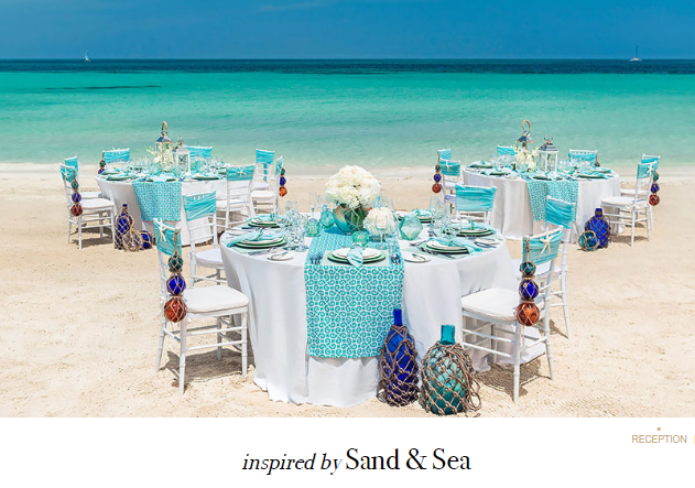 Beaches Weddings    Have a wedding that is inclusive for all. With wedding Inspirations inspired by looks from the hottest trends in the industry, you can customize your wedding and make it all yours. Or, you can choose to keep the design of the free Tropical Wedding included when your book 3 nights or more.