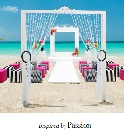 Sandals Weddings    With Wedding Inspirations inspired by different looks from the hottest trends in the wedding industry, you can customize your wedding to the look that speaks to you. Or, you can choose to keep the design of the free Tropical Wedding included when your book 3 nights or more.