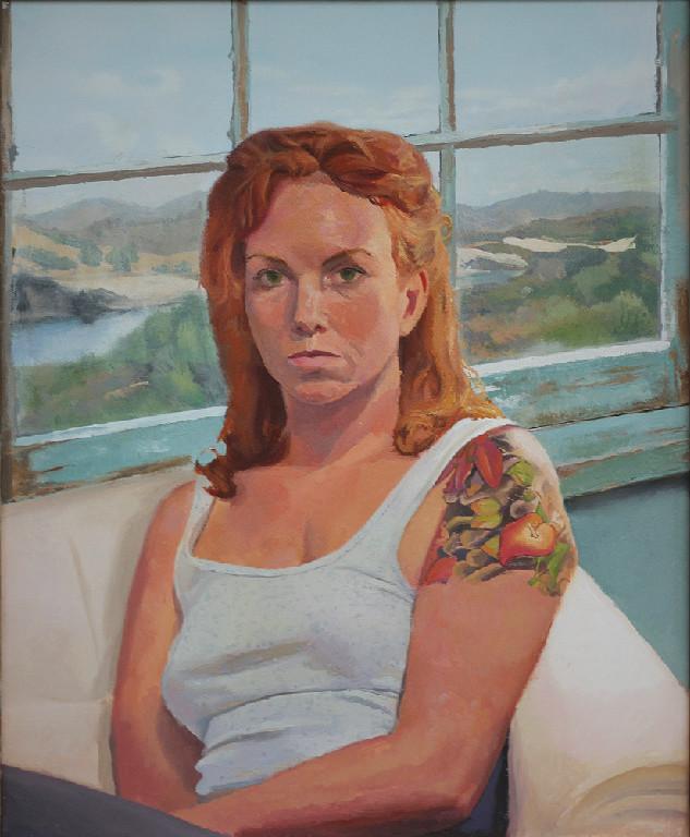 """Cassandra 16""""x20"""" Oil on Canvas"""