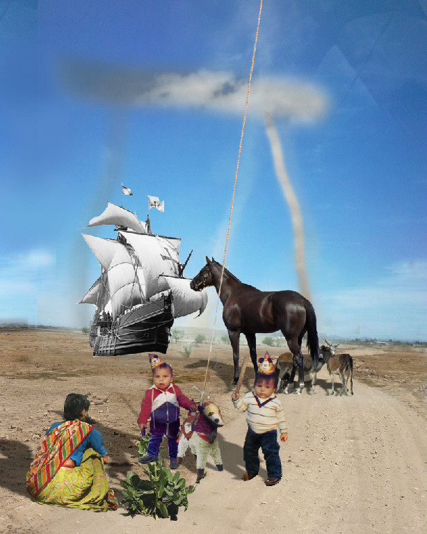 Tachyon memory coinciding with 1492, Dust Devil, and My 1st Birthday